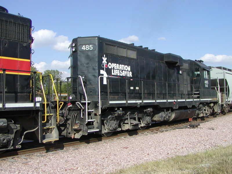 IAIS 485 at Council Bluffs, IA on 17-Sep-2001