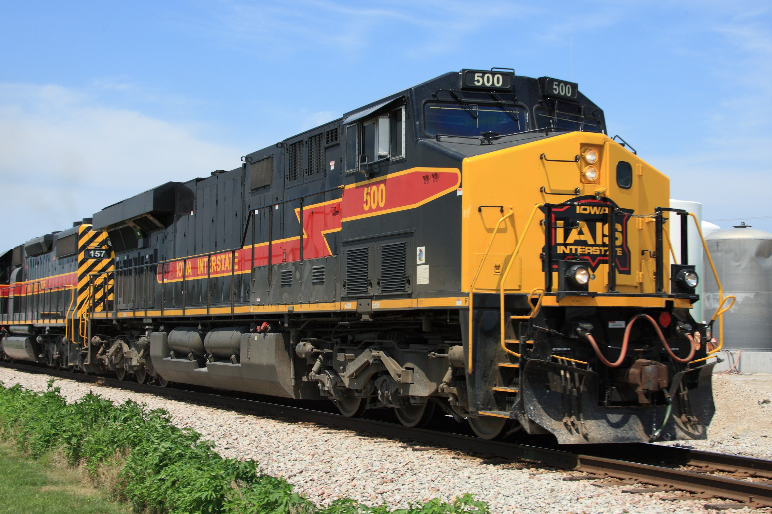 500 at Walcott, IA, on 21 Jul 2011