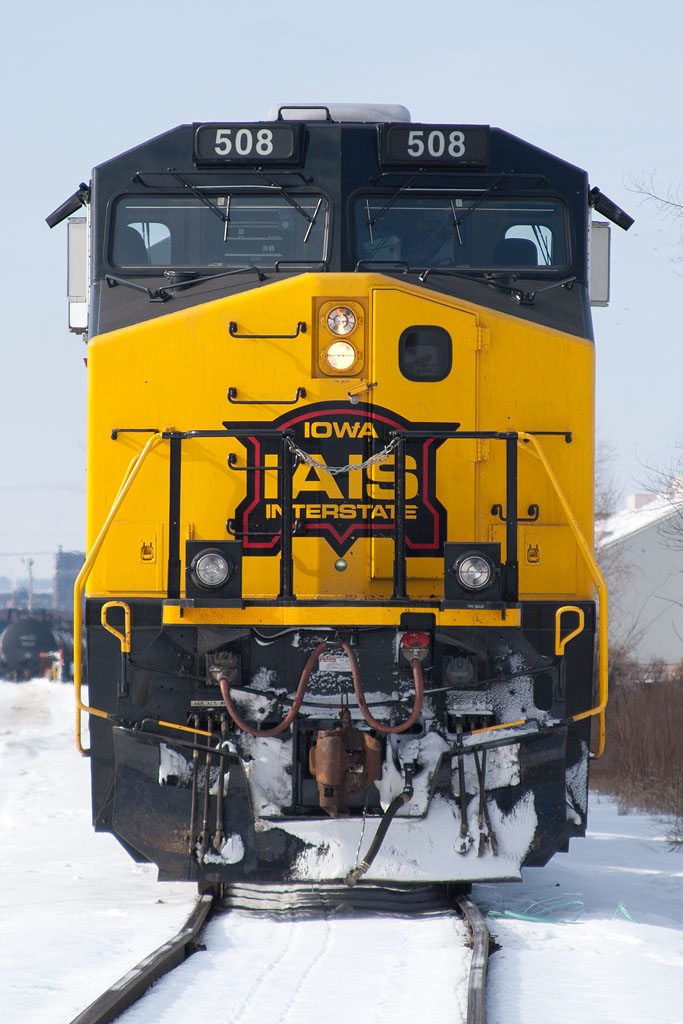 IAIS 508 at Rock Island, IL on 19-Jan-2011.