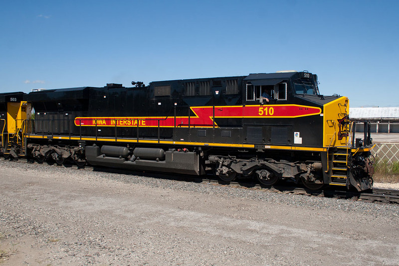IAIS 510 at Rock Island, IL on 7-Sep-2010.