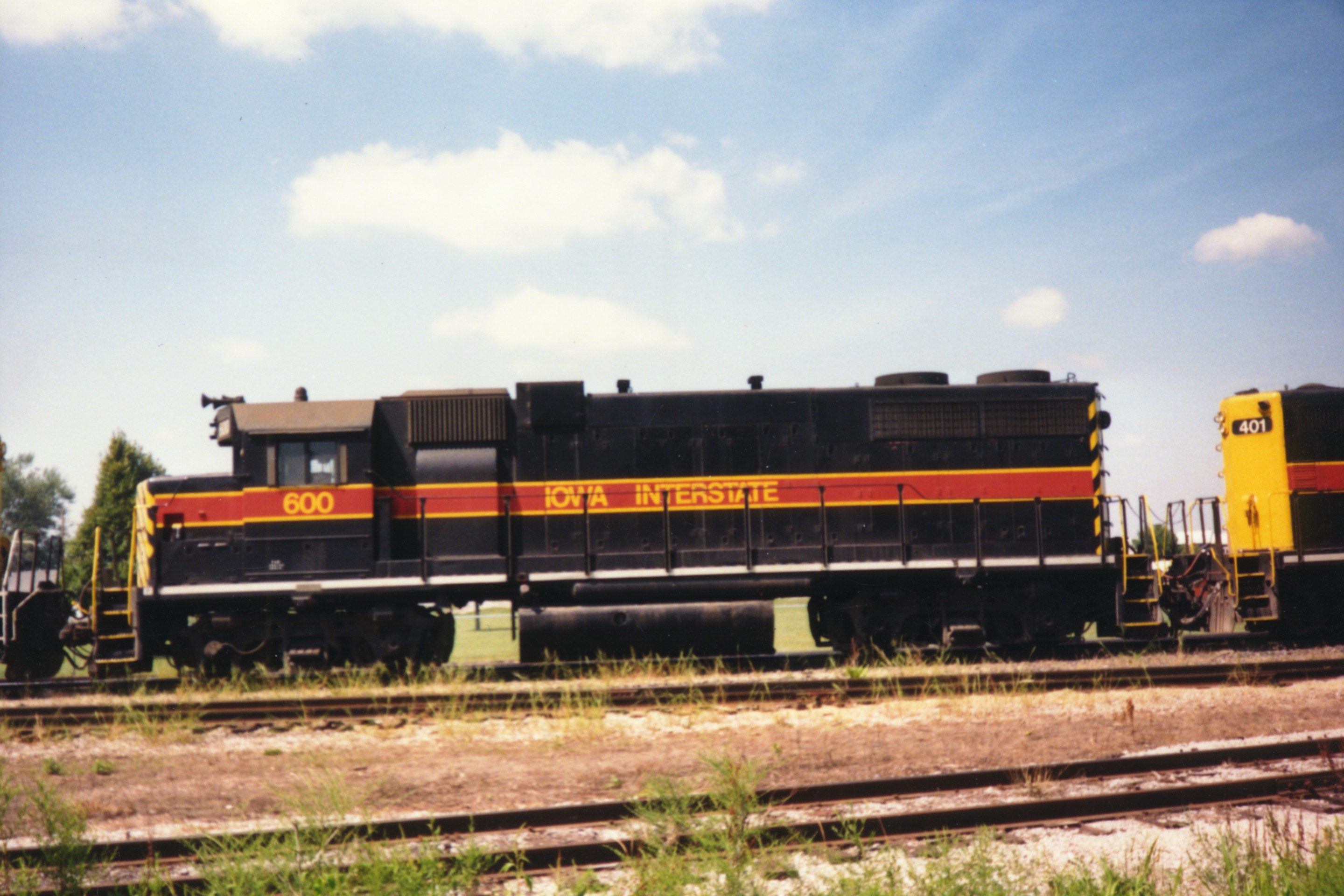 IAIS 600 at Altoona, IA on 01-Aug-1992