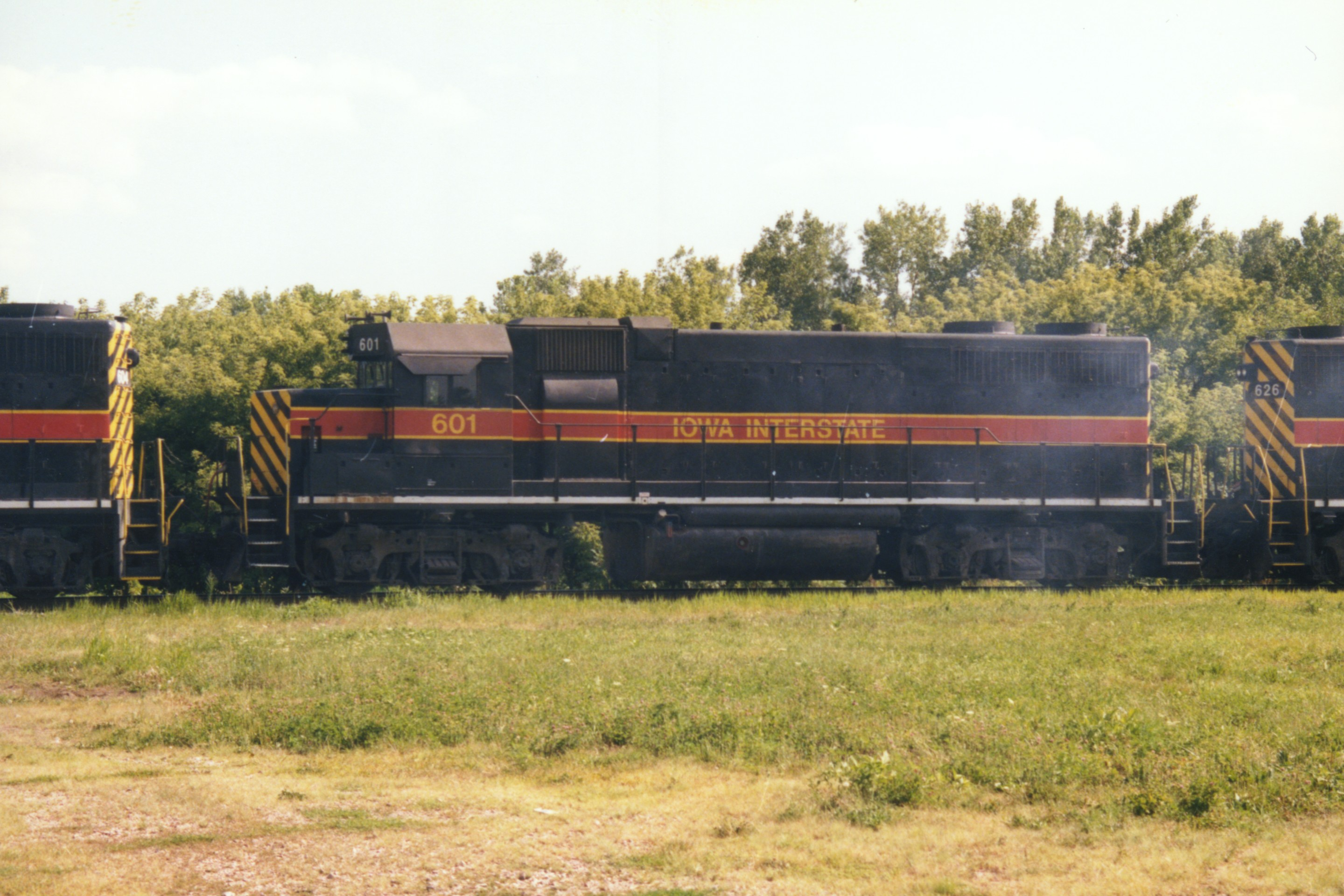 IAIS 601 at Short Line Junction, IA on 07-Aug-1997