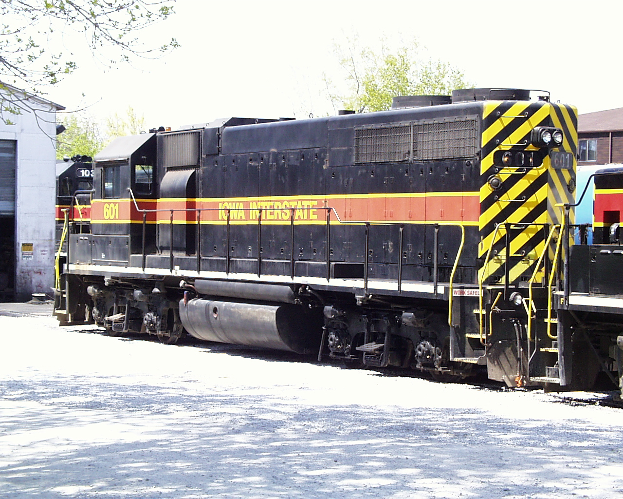 IAIS 601 at Iowa City, IA on 29-Apr-2000