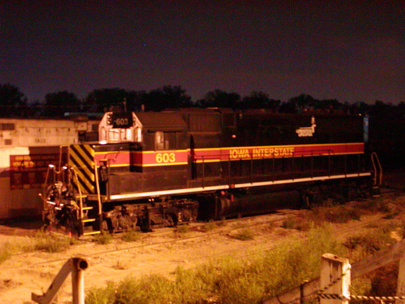 IAIS 603 at Council Bluffs, IA on 06-Sep-2001