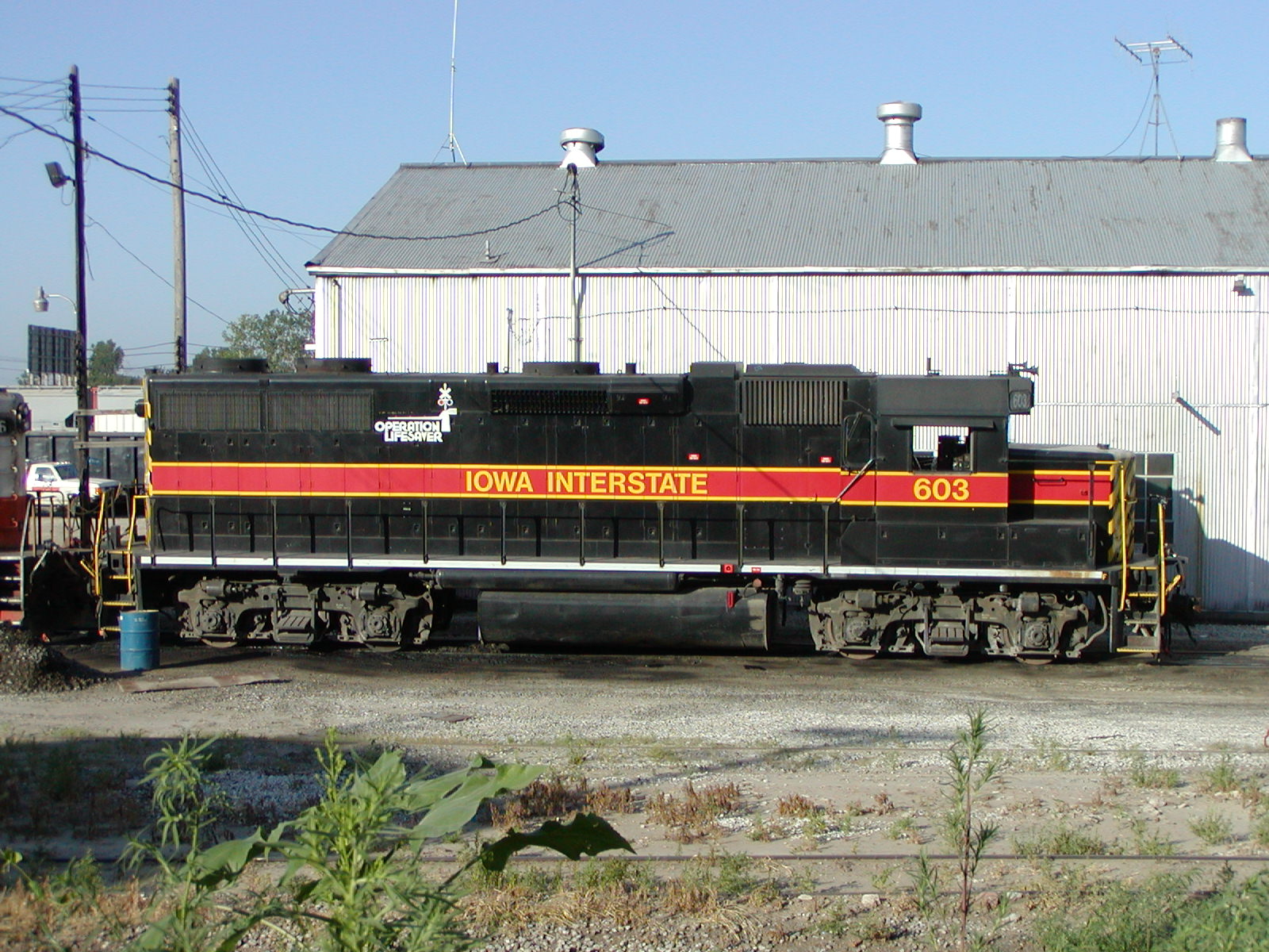 IAIS 603 at Council Bluffs, IA on 01-Aug-2001