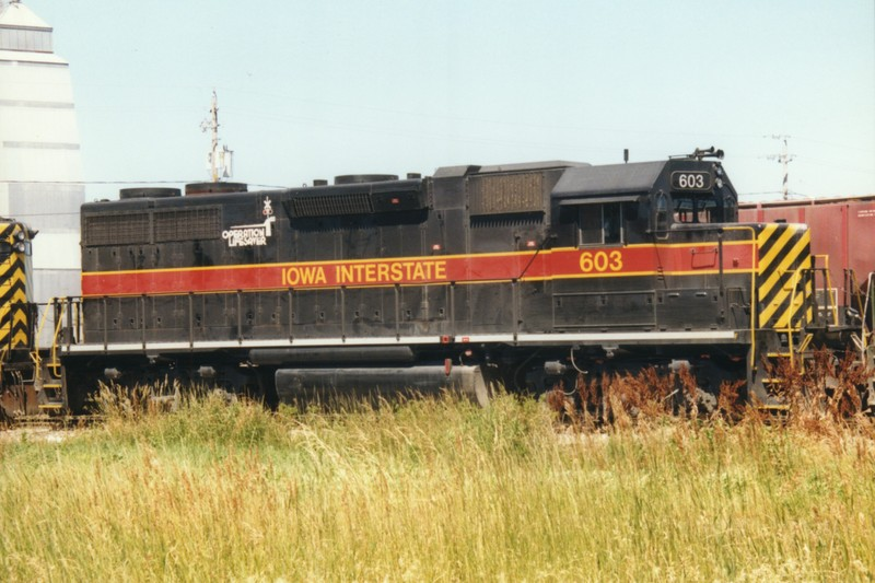 IAIS 603 at Altoona, IA on 08-Jul-1996