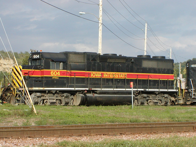 IAIS 604 at Council Bluffs, IA on 17-Sep-2001
