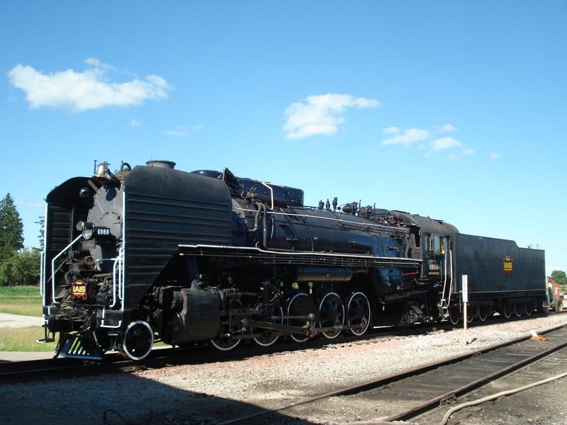 "IAIS 6988 shows off her new ""Americanized"" look in Newton, IA on June 27, 2011."