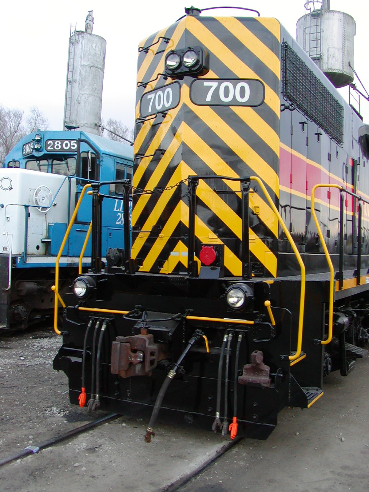 IAIS 700 at Council Bluffs, IA on 30-Dec-2004