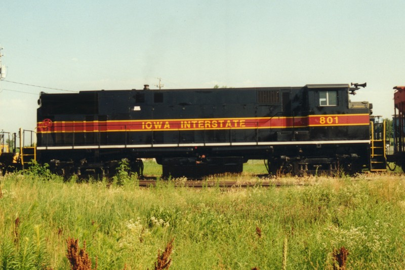 IAIS 801 at Altoona, IA on 11-Jul-1994