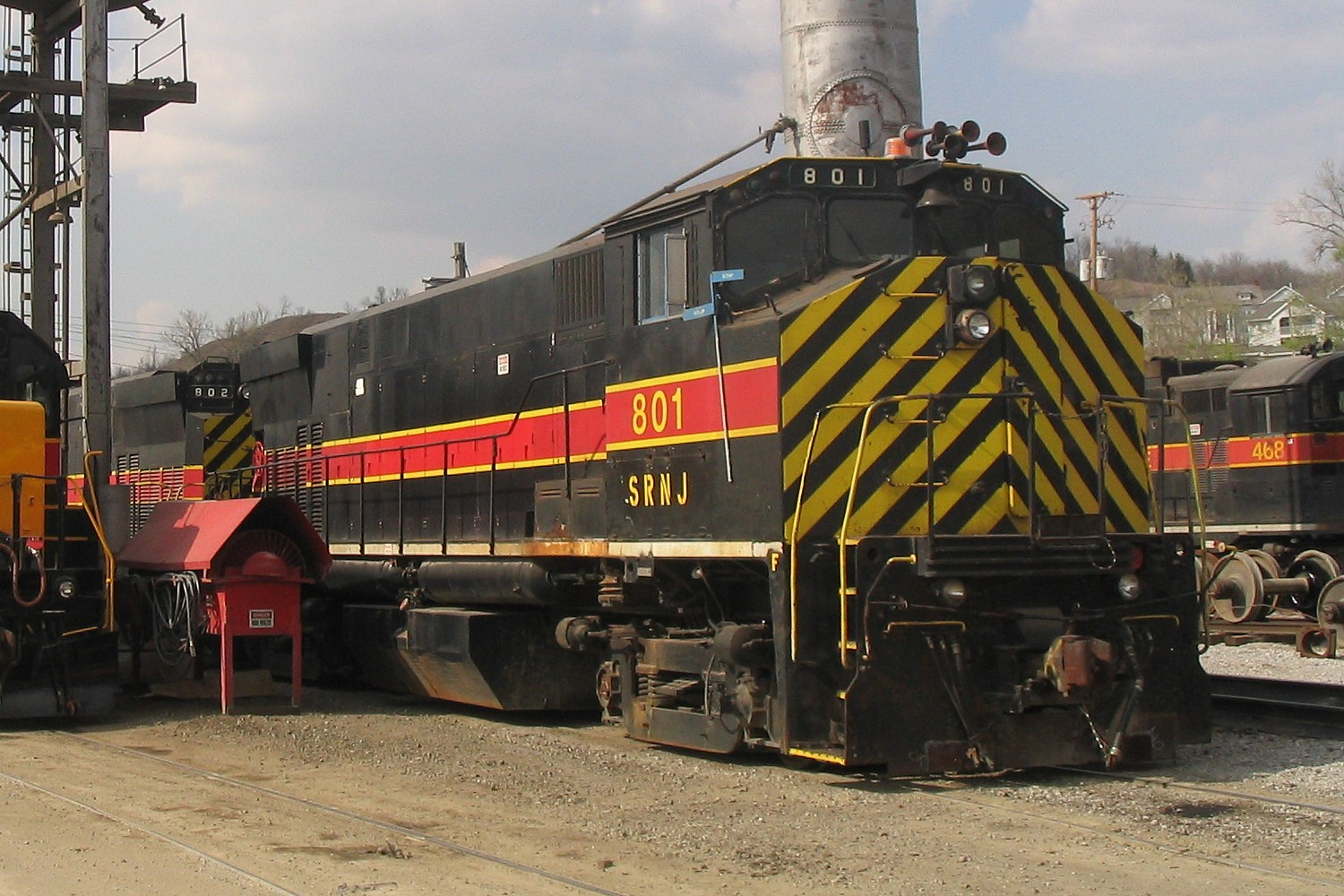 IAIS 801 at Council Bluffs, IA on 09-Apr-2005
