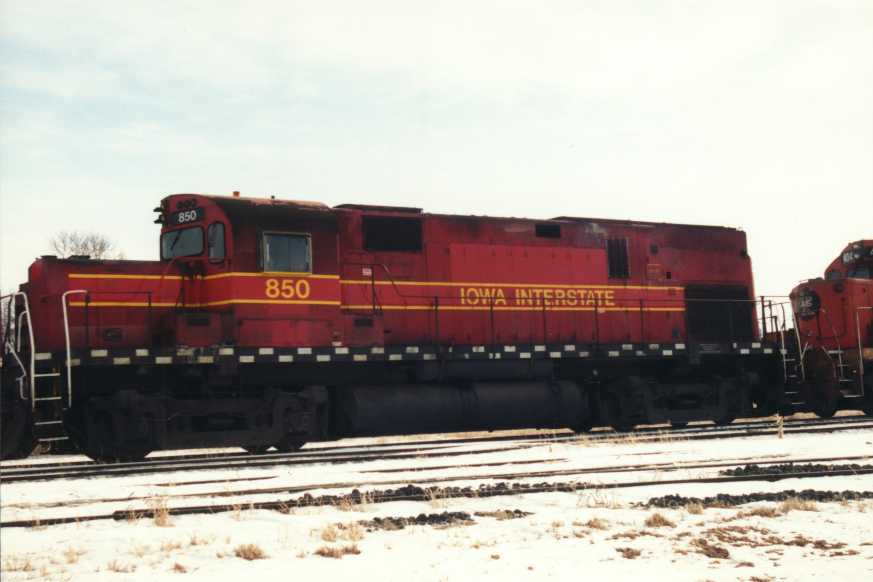 IAIS 850 at Altoona, IA on 14-Feb-1994