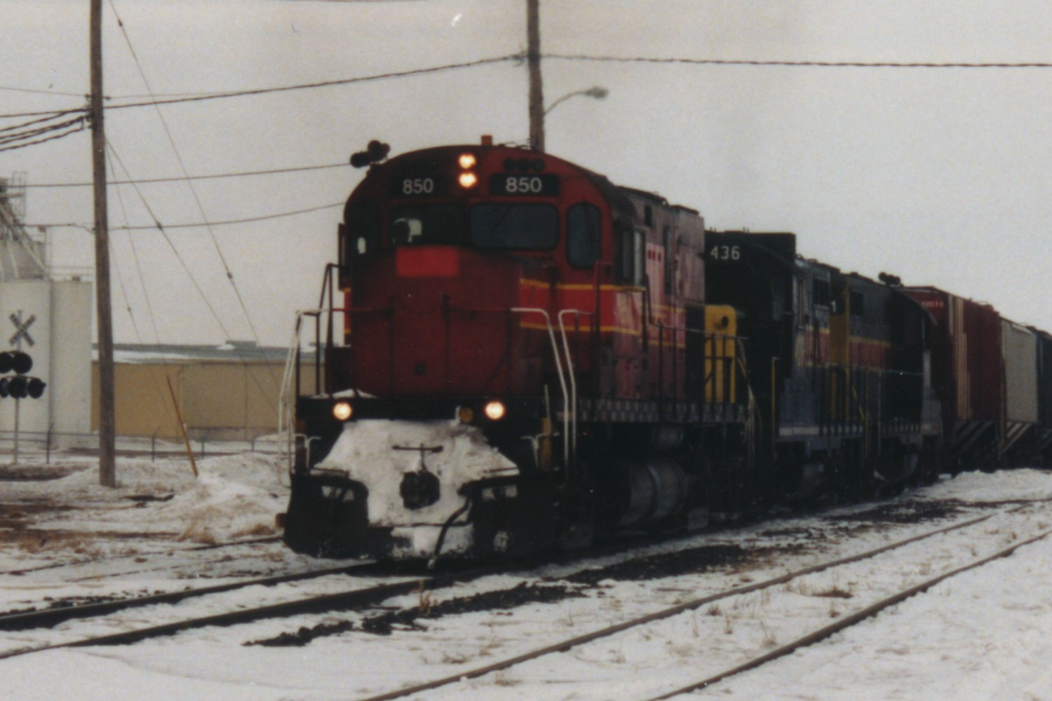 IAIS 850 at Altoona, IA on 27-Feb-1994
