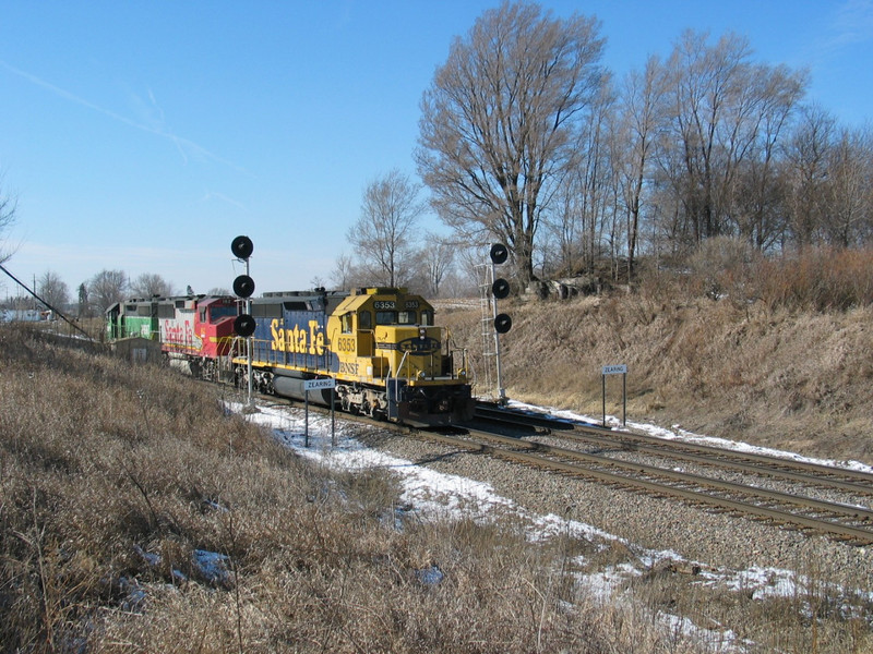 BN manifest setting out at Zearing, Feb. 13, 2006.