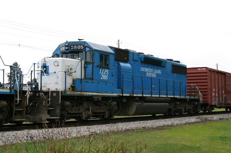 LLPX 2805 at Wilton, IA on 28-Aug-2004
