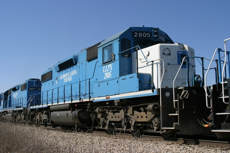 LLPX 2805 at Homestead, IA on 16-Mar-2005