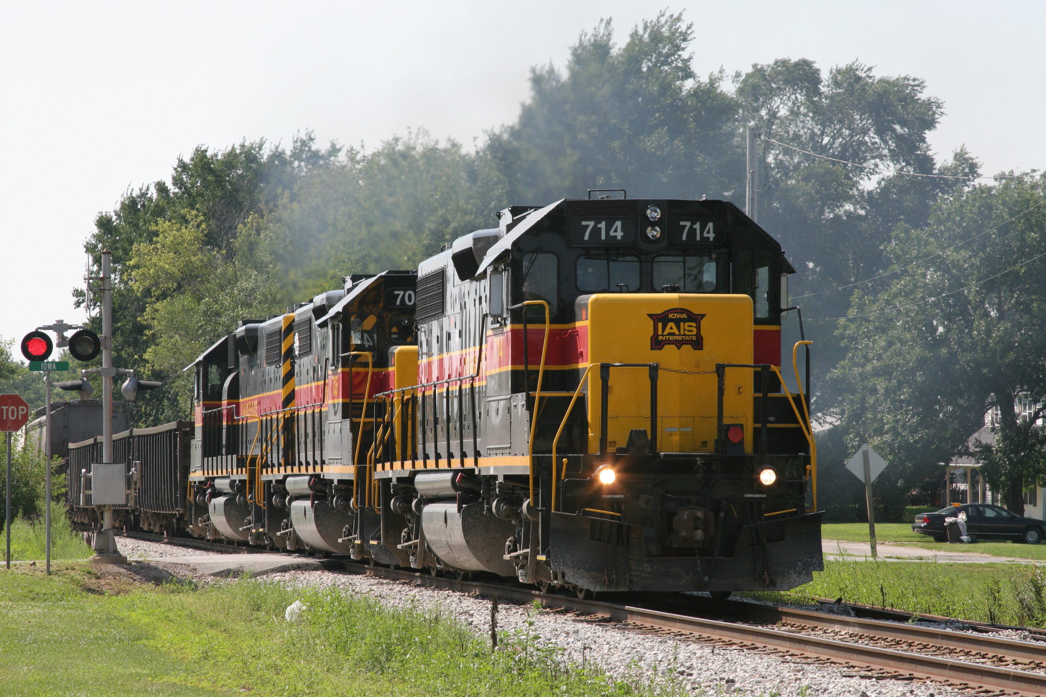 CBBI at Stockton, IA, on 11-Aug-2007