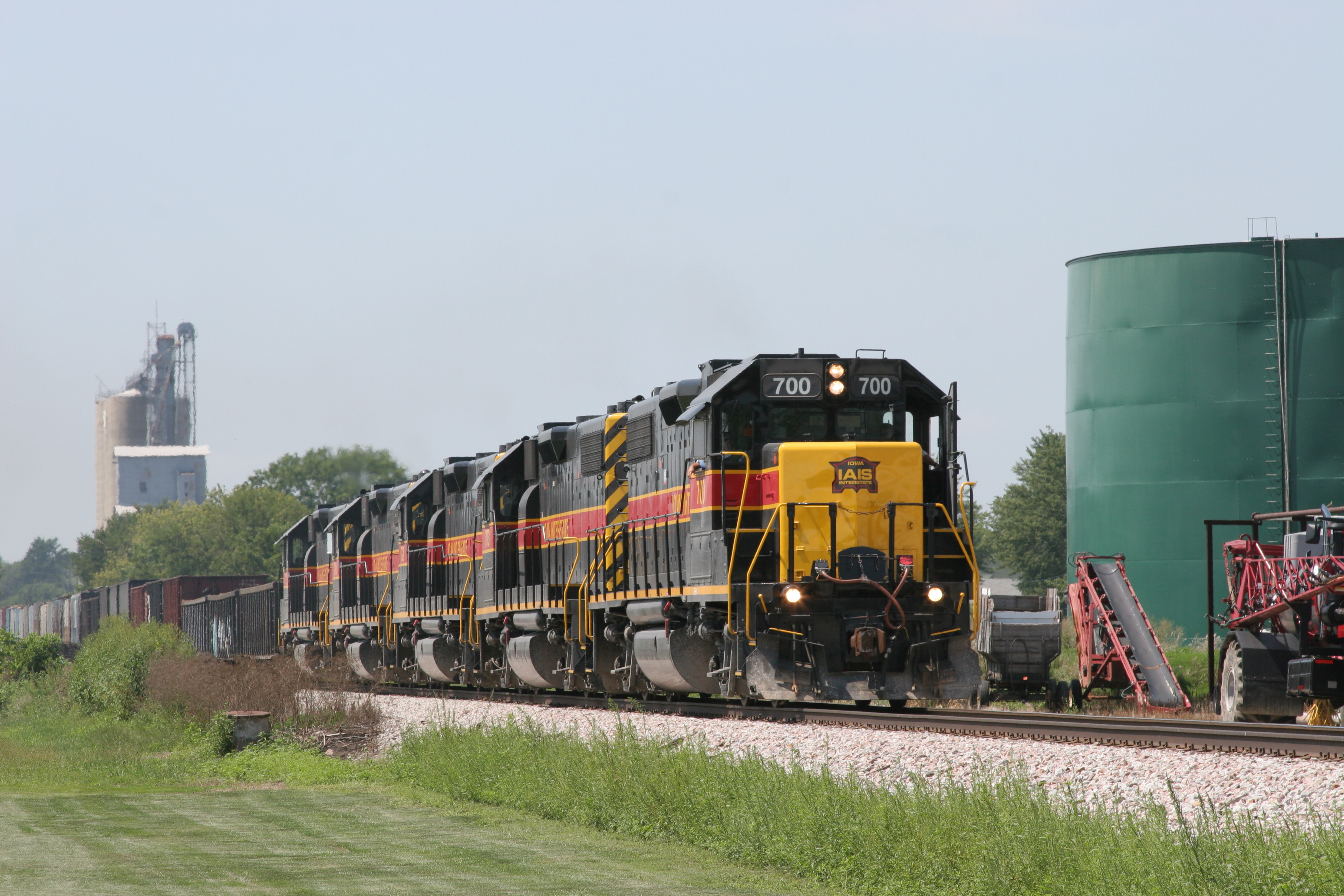 CBBI at Walcott, IA, on 12-Aug-2007