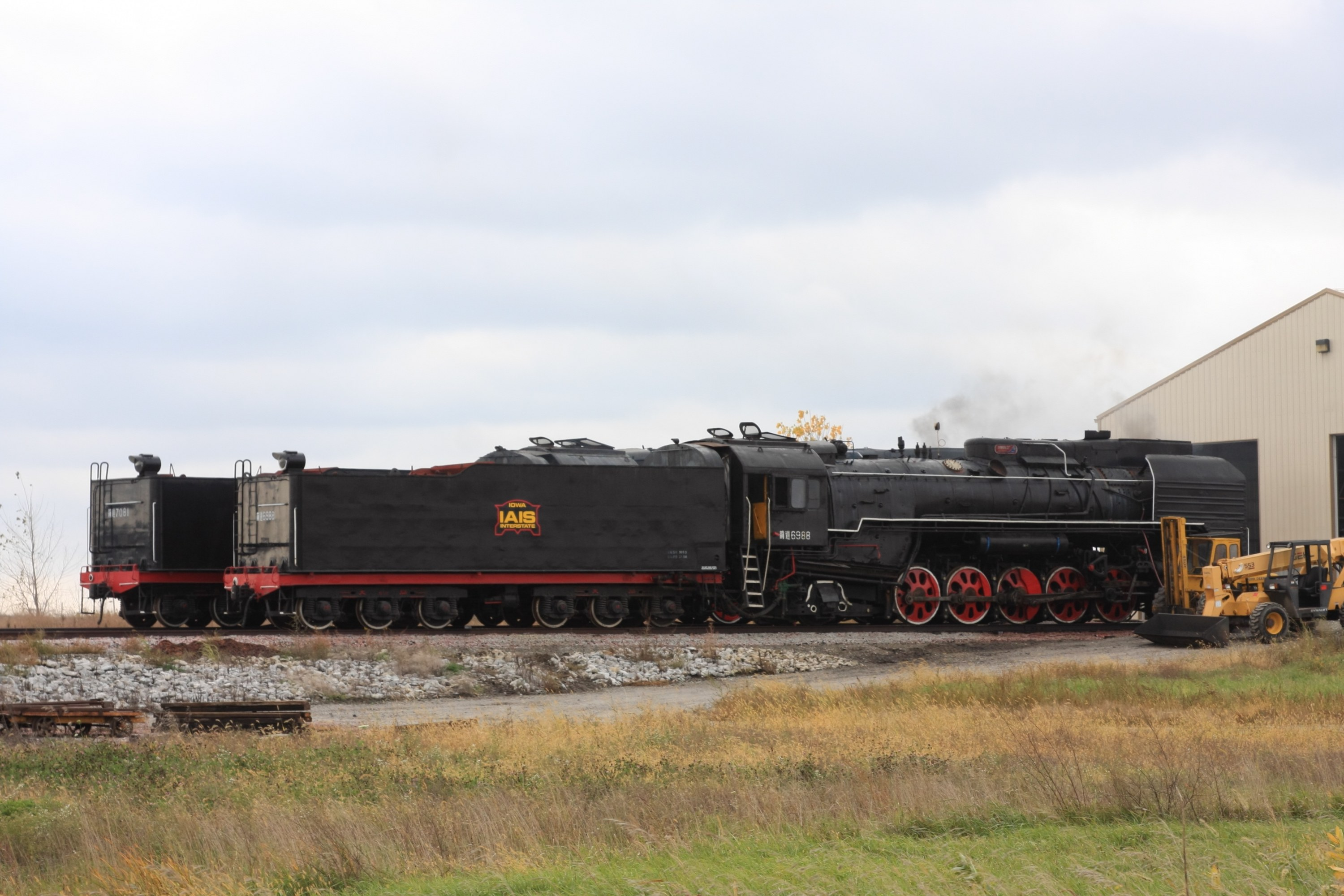 QJs smoking away at Newton - should be heading out in a day or so
