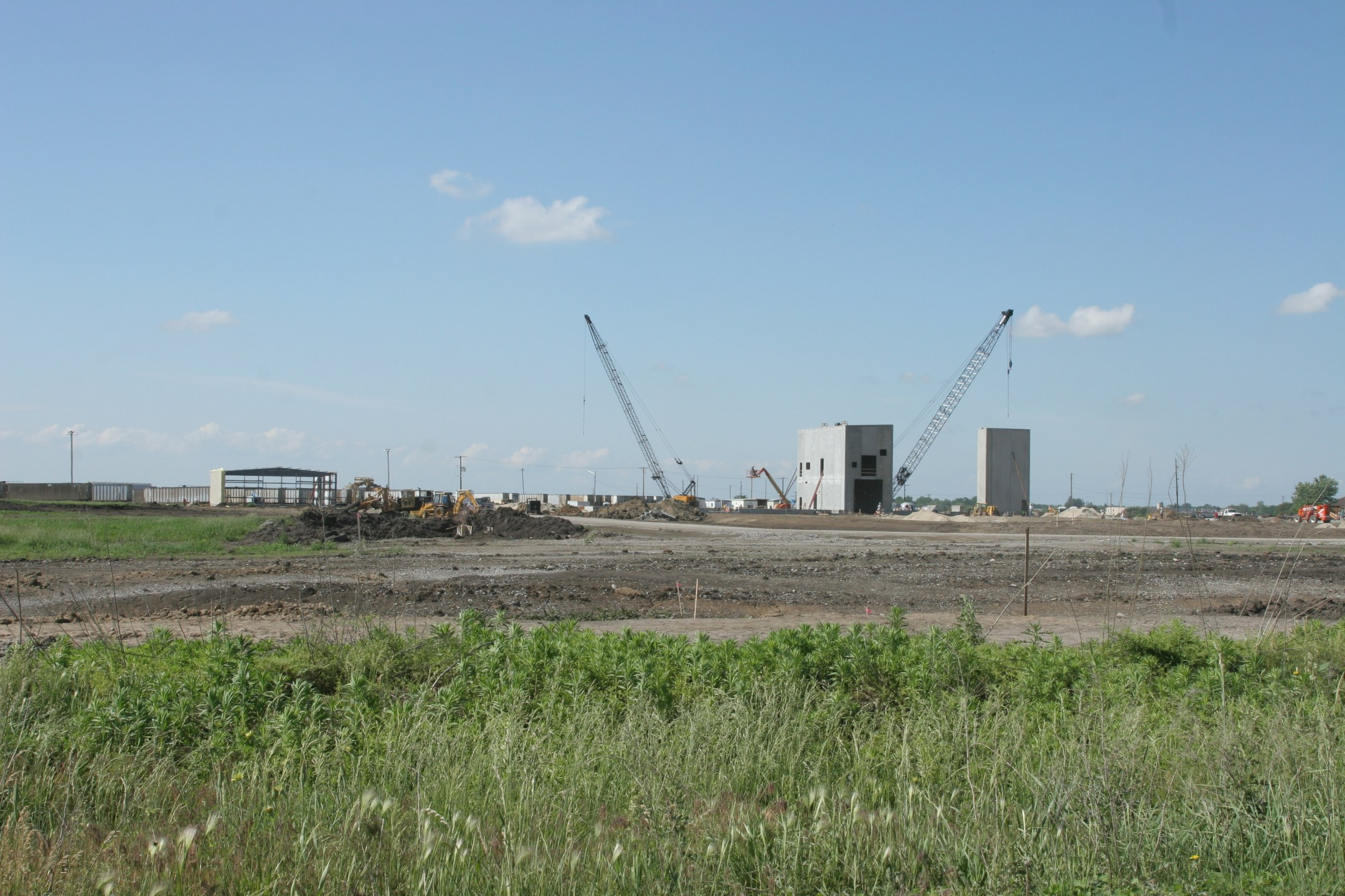 Another look at Newton's new ethanol plant under construction