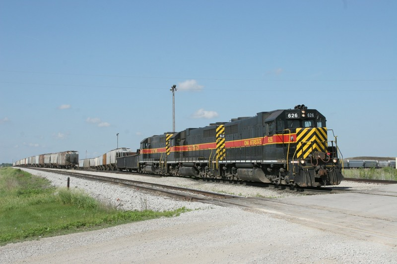 CBBI-31 is put together and ready to depart Newton, IA