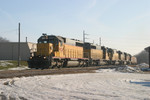 The four yellow bombs (and  705) lead  RIIC at West Liberty,  IA