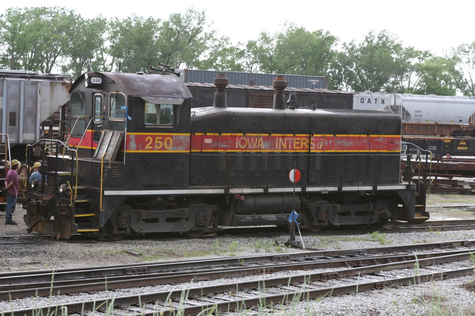 IAIS 250 in Council Bluffs, IA, on 27-May-2006