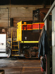 A peek inside the Iowa City Shops as 710 waits for attention.