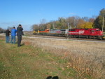 Railfans doing what railfans do.