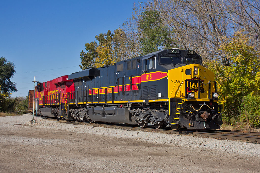 CBBI-16 @ Terminal Jct; Rock Island, IL.  October 17, 2015.