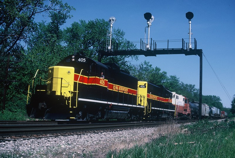 14May88PaulMeyer  East of Joliet.
