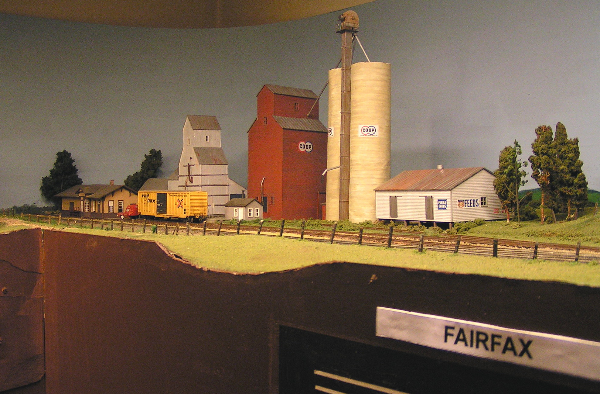 Fairfax, IA, inspired by Annawan, IL on the IAIS.