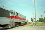 Late in the Quad City Rocket's existance, the 2632 acquired a red stripe down the middle