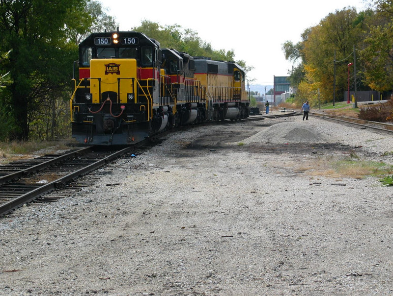 Looking south, at the south end of Limit Yard, Nov. 3, 2005.