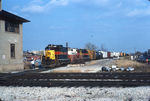 WB road freight is getting orders at Joliet.