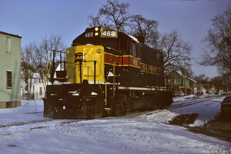 #468 old style at 5th & Taylor Streets, Davenport, Iowa January 15th, 1992.