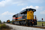 A rear view of #502 at Durant, Iowa 09/21/08