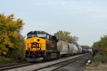 #509 brings an ICRI manifest into Davenport, Iowa  October 12th, 2008.
