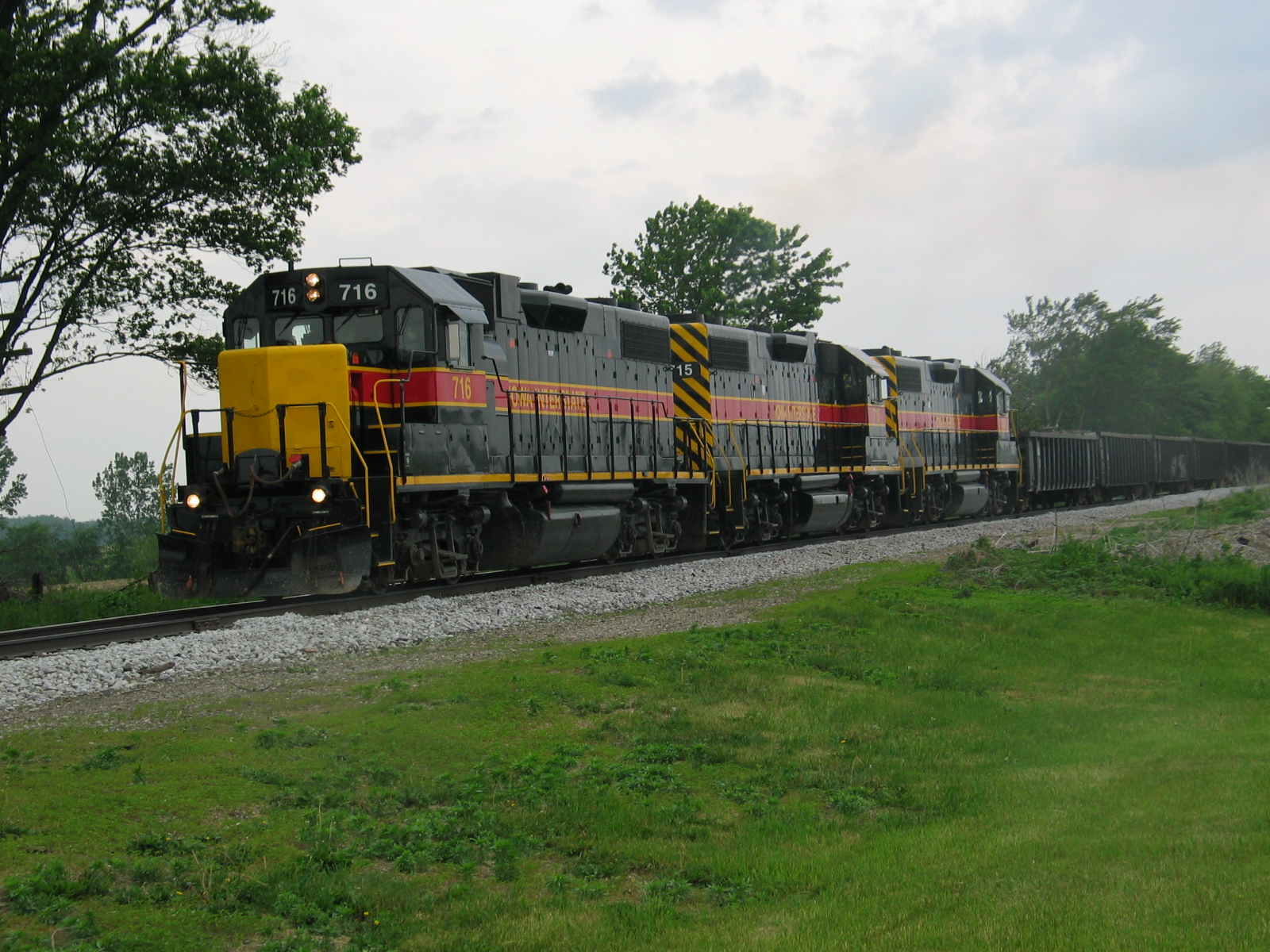 Eastbound at 206, east of Wilton, May 24, 2007.
