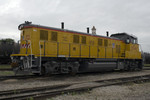 A new UP Genset out of NRE in Silvis sits in Rock Island, IL awaiting delivery to the UP via the IHB in Chicago.  02-Jun-2007.