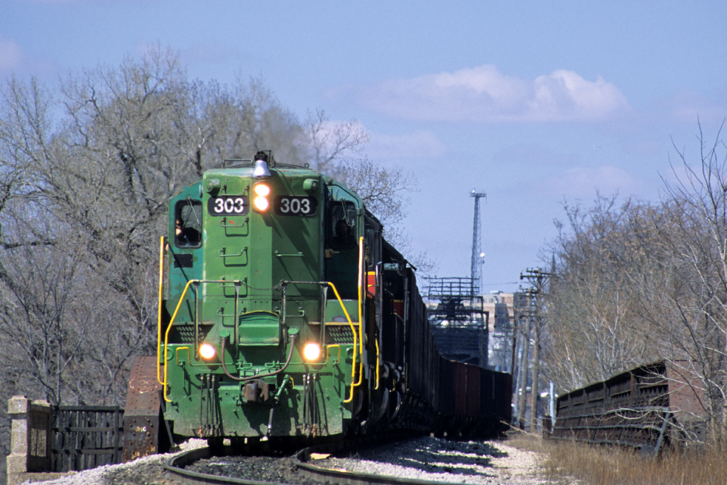 #303 off the Government Bridge, Rock Island, Illinois 04/01/04