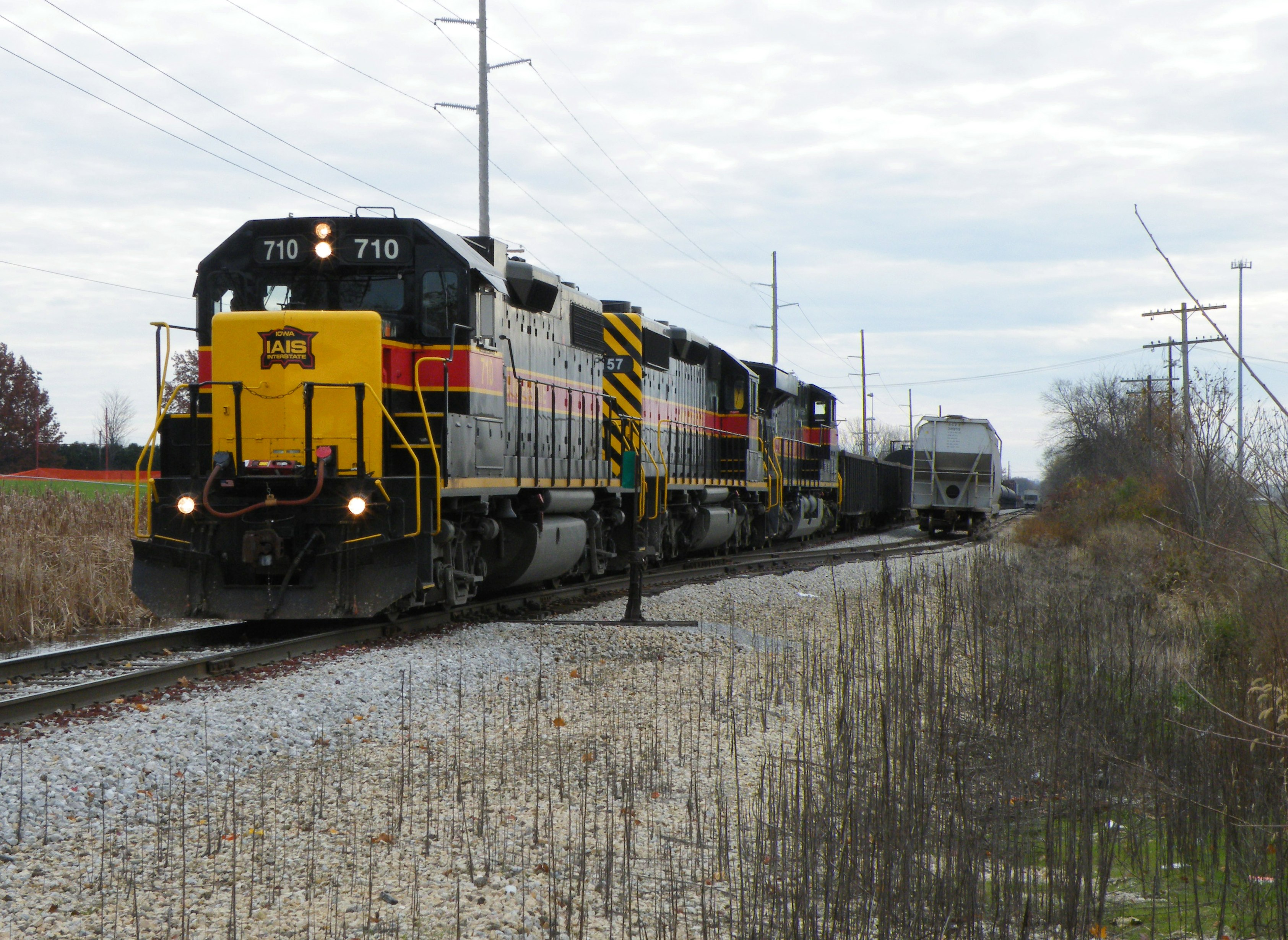710 leads 157 and 511 on BICB as they cross First Ave. in Iowa City.