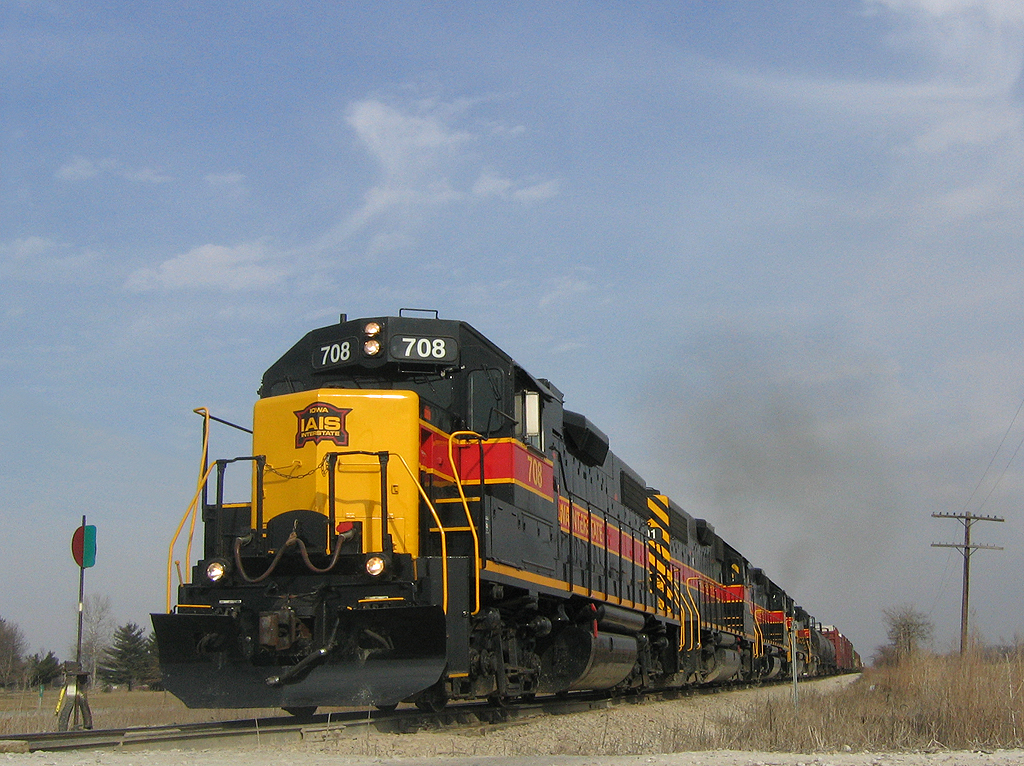 "708 West near Wilton, Iowa with ""BICB""   March 1, 2006"