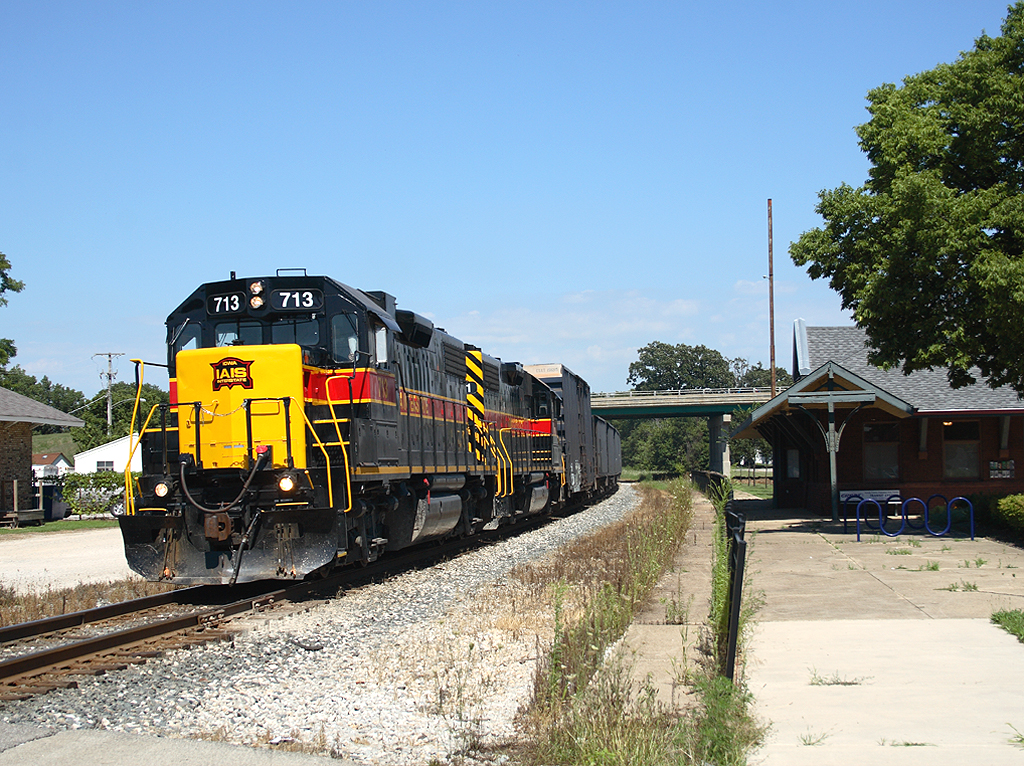 713 West at Morris, Illinois with BICB  August 4th, 2006
