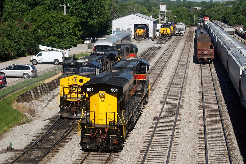 501 and 503 in the IC Yard.