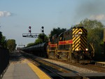 156 and 500 thunder out of Burr Oak Yd with a BICB primarily made up of ethanol mtys. 05-03-10.