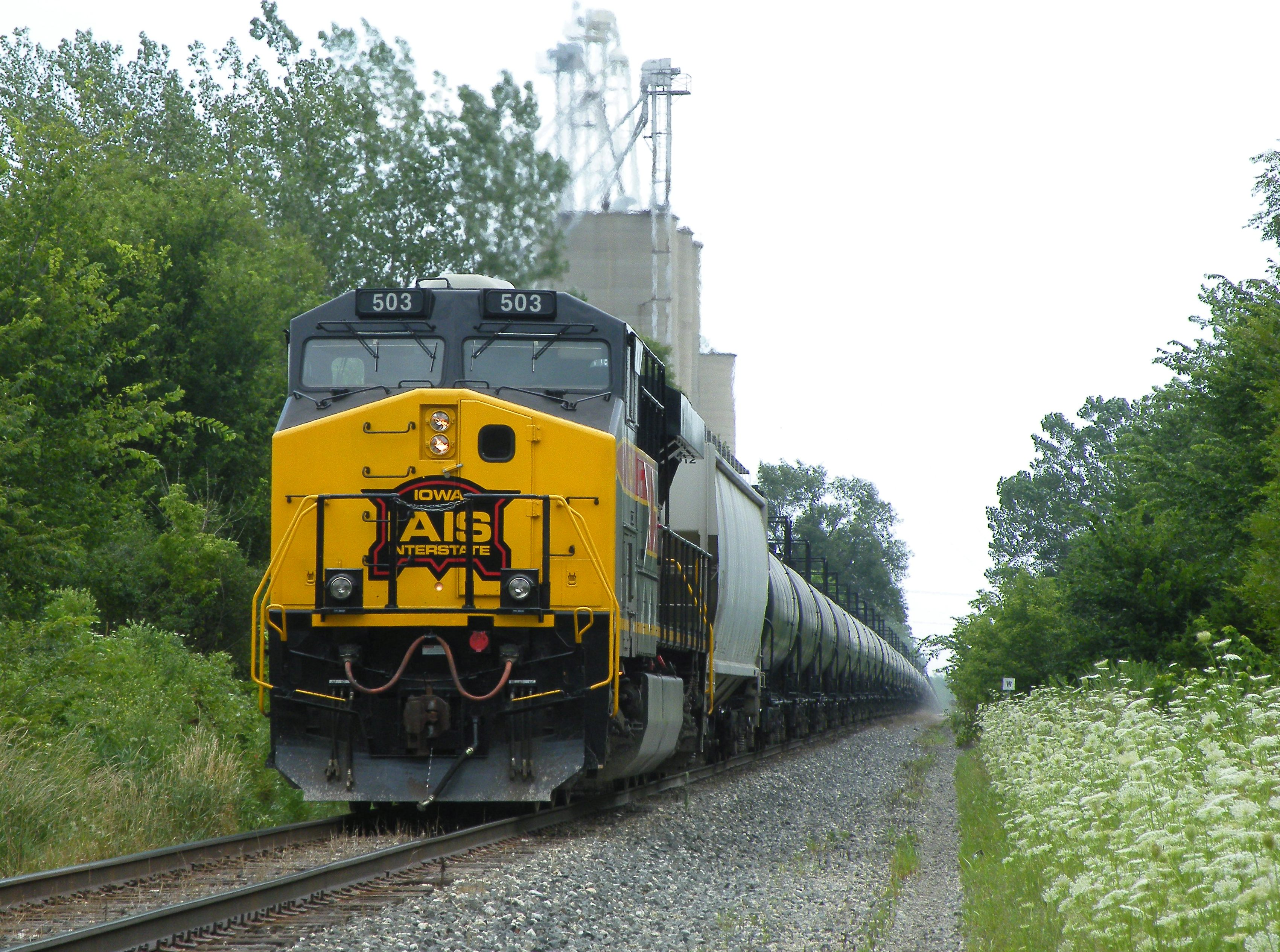 503 brings up the rear as today's DPU on a MEBIU. 07-15-10