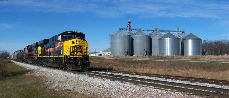 One more time with the CRIC30, passing the feed mill in Homestead.