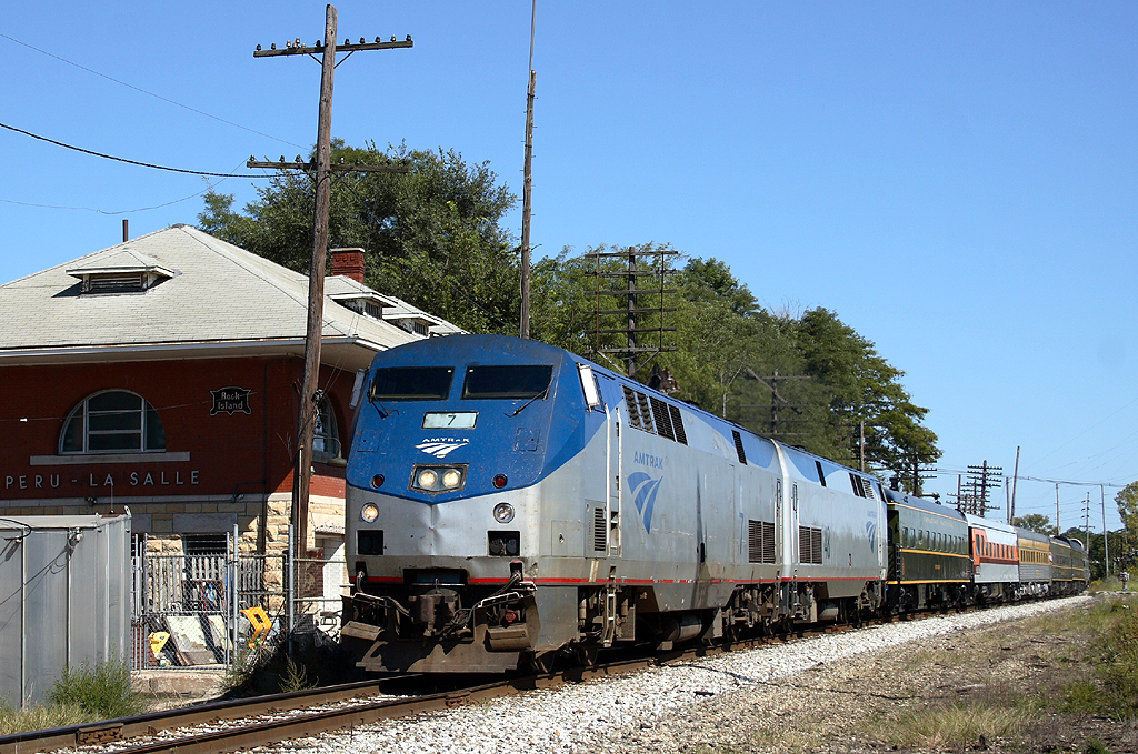 Another ex-RI depot at LaSalle, Illinois, September 16th 2007.