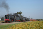 Blasting through the beanfields east of Geneseo, Illinois September 16th, 2006.